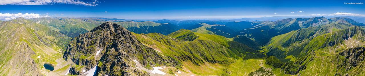 Munții Făgăraș lacul Caltun