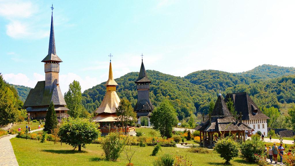 Máramaros | Manastirea Barsana - Biserici din lemn