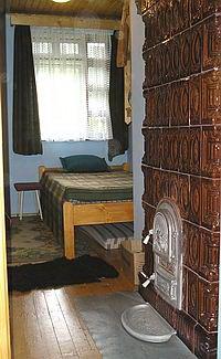 A harmadik szoba a Nagy Zöldfenyő kulcsosházban