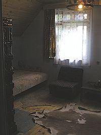 A negyedik szoba a Nagy Zöldfenyő kulcsosházban