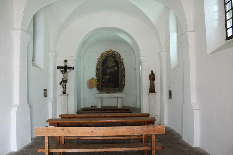 Capela Sfântul Anton, construită între 1750 și 1773