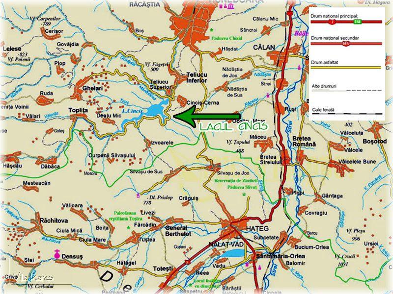 Csolnakosi tó  turisztikai térképe - szállás