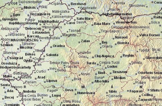 dél erdély térkép Románia  Térkép dél erdély térkép