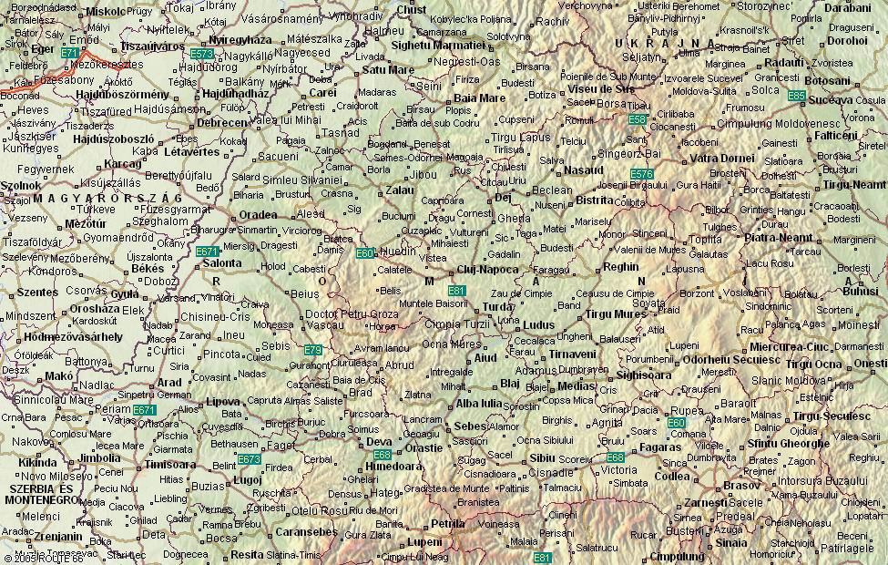 térkép erdély Románia   Erdély térkép térkép erdély