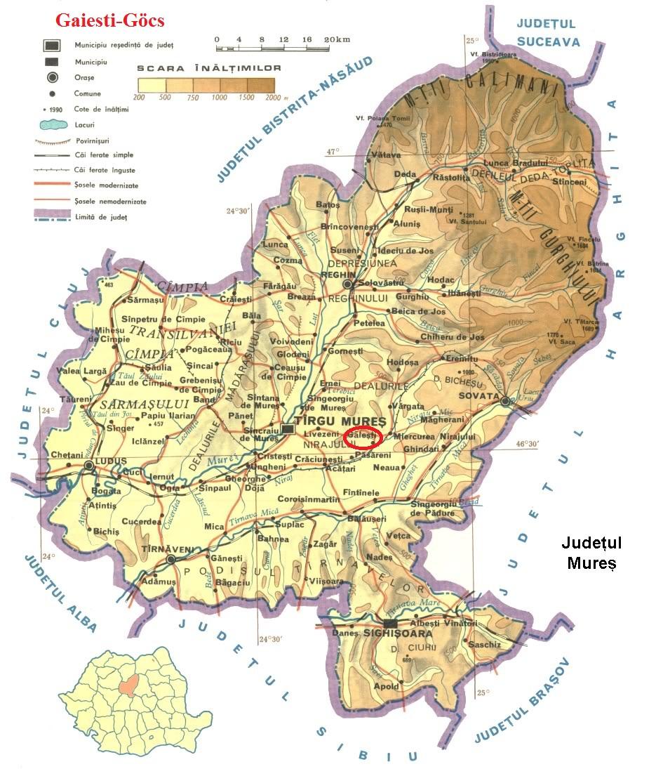 Göcs turisztikai térképe - szállás