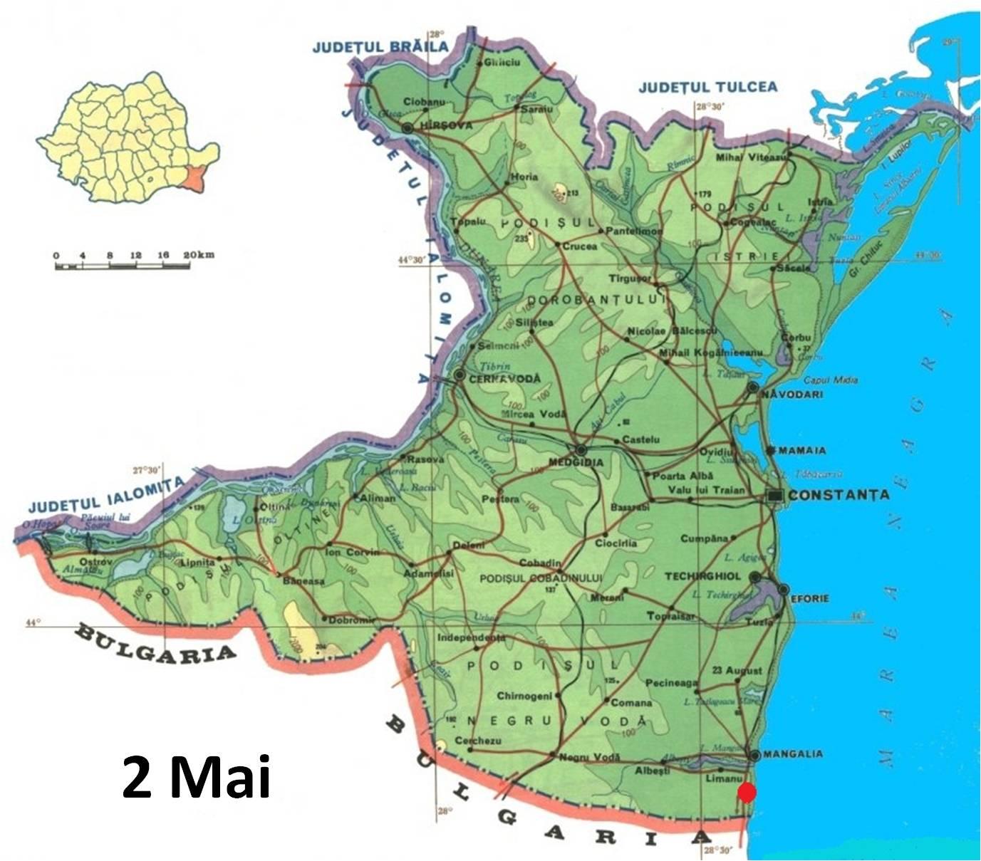 Május 2 fürdőturisztikai térképe - szállás