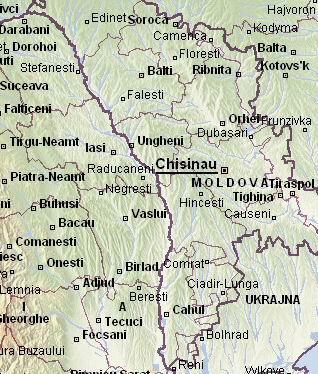 moldva térkép Románia  Térkép