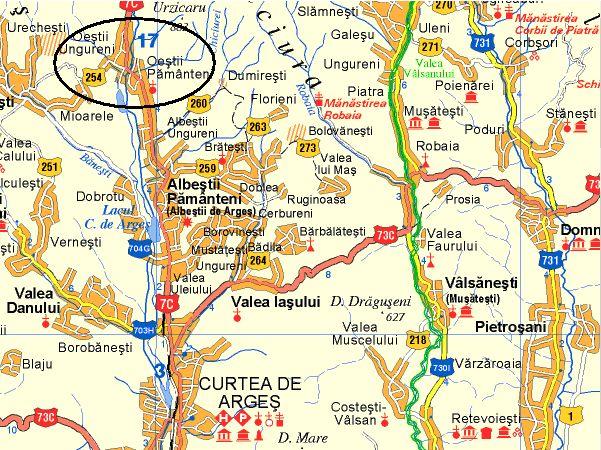 Oesti turisztikai térképe - szállás