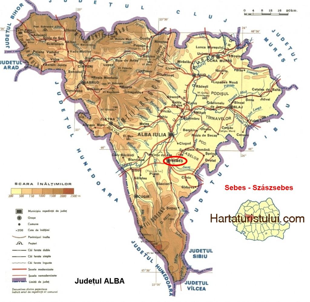 Sugág turisztikai térképe - szállás