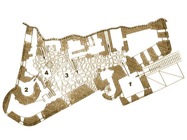 Törcsvári Drakula Kastély turisztikai térképe - szállás