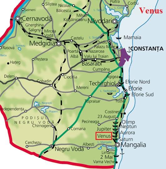 Venusturisztikai térképe - szállás